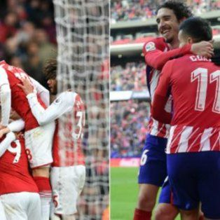 atletico madrid visita al arsenal, en una final anticipada