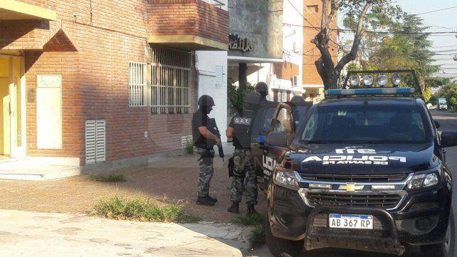 Operativo que se realizó en Francia y Uruguay.