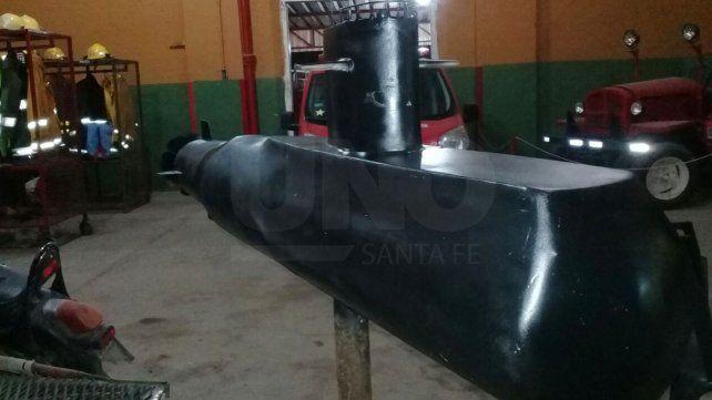Un santafesino impulsó la creación de una réplica del submarino ARA San Juan