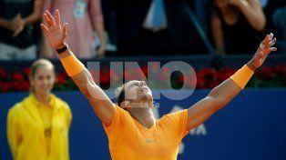 Rafael Nadal no detiene su andar arrollador en el Torneo Conde de Godó