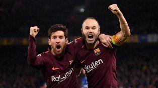 Las emotivas palabras de Messi tras la despedida de Iniesta