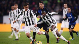 Juventus e Inter abren la fecha bajo la atenta mirada de Sampaoli