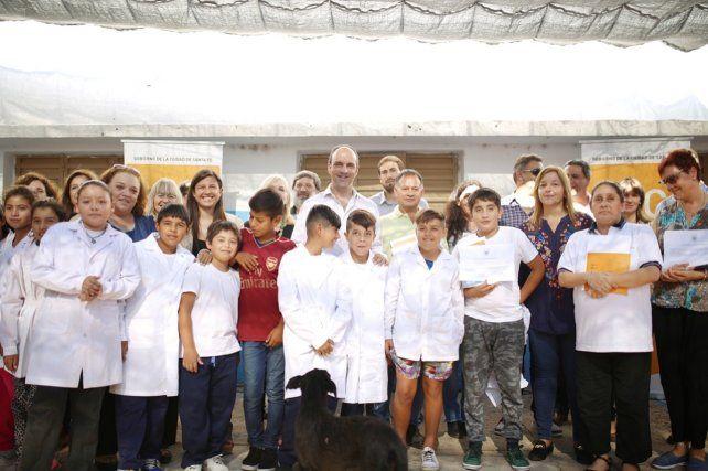 Acto. Se realizó en la escuela Nº95 Simón de Iriondo