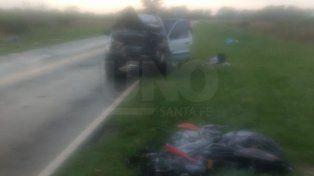 Identificaron al motociclista que murió al chocar con una camioneta en Arroyo Aguiar
