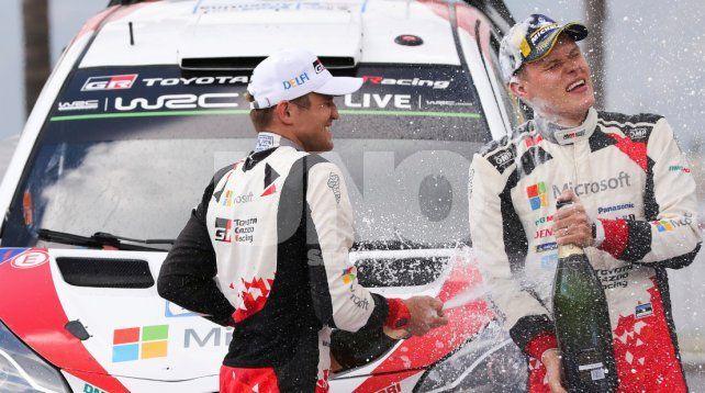 Ott Tanak cerró un gran fin de semana y se quedó con el Rally de la Argentina