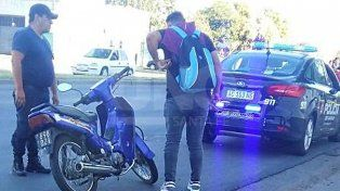 Lo pescaron cuando intentaba robar una moto en Bulevar Pellegrini y Rivadavia