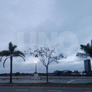 amanecio nublado y hay pronostico de lluvias para este lunes en santa fe