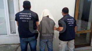 Detención. El momento en que Villarroel fue llevado a sede policial para ser identificado.