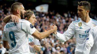 Con un empate agónico, Real Madrid llegó a la final de la Liga de Campeones