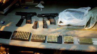 Cayó preso con más de tres kilos de cocaína, dos armas de guerra y casi 300 balas