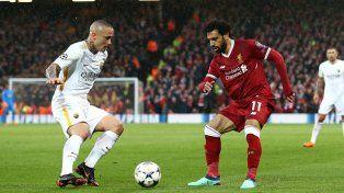 Roma buscará una nueva hazaña ante Liverpool