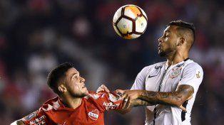 Independiente necesita pisar fuerte ante Corinthians en Brasil