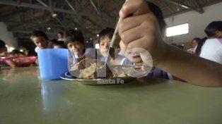 Nación no actualiza las partidas para los comedores escolares de Santa Fe desde 2016