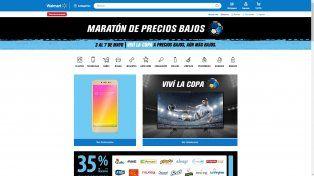 Maratón de Precios Bajos en Walmart