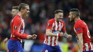 Atlético Madrid y Olympique de Marsella, finalistas de la Europa League