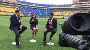 El grito de gol de Iris Cisneros, la primera relatora de fútbol mexicano