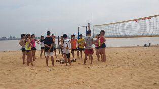 Santa Fe se prepara para el Nacional Sub 18 de Beach Volley