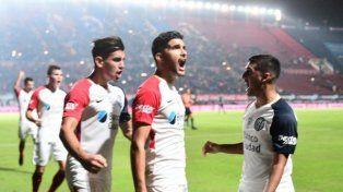 San Lorenzo se clasificó a la Libertadores y se festejó en Santa Fe