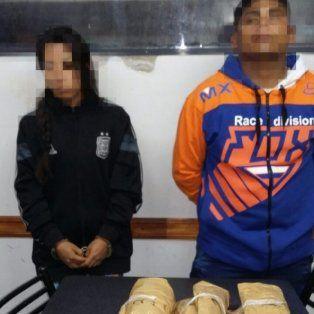 detenidos con seis kilos de cocaina arriba del colectivo