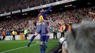 Barcelona y Real Madrid empataron en un partidazo