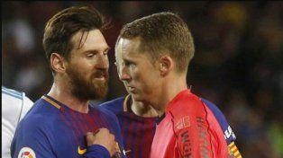 Real Madrid acusa a Messi de presionar al árbitro en el Clásico