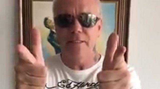 Popeye, el sicario de Pablo Escobar, envió un mensaje de apoyo a Los Monos
