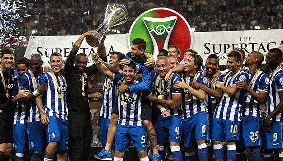 A pura cumbia: Porto salió campeón y festejó al ritmo de Los Palmeras