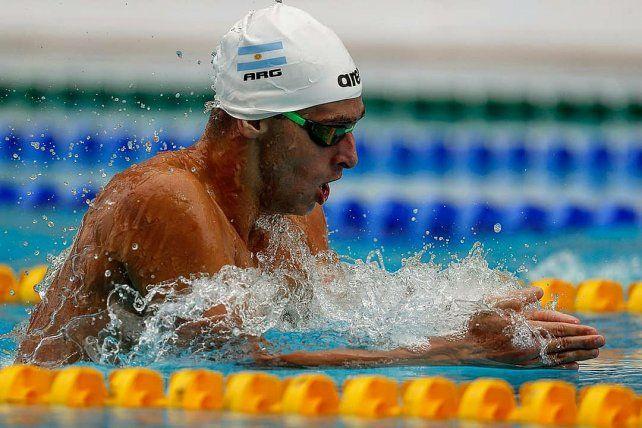 Gabriel Morelli, el nadador santafesino que sueña con llegar a los Juegos Olímpicos