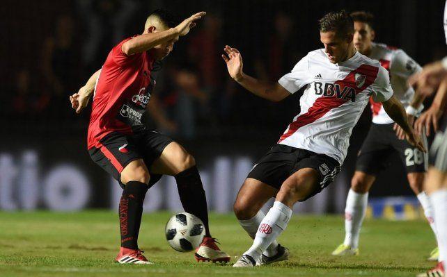Colón no pudo con River y quedó sin margen de error para llegar a la Sudamericana