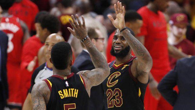 Con un estelar LeBron James, los Cavaliers son finalistas de la Conferencia Este