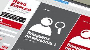 Se ofrecieron 1.286 puestos de trabajos a través de la plataforma digital Nexo Empleo