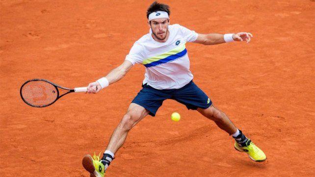 Mayer superó a Fognini y avanza en Madrid