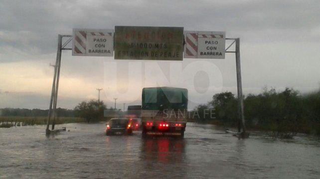 El temporal trajo graves problemas en algunas rutas provinciales
