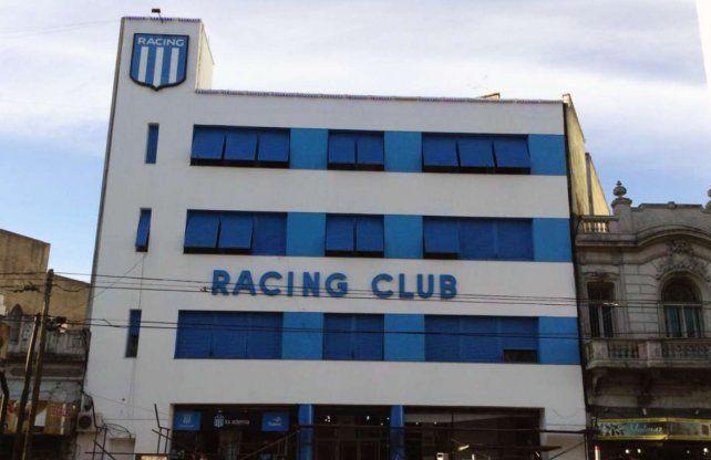 Allanaron la sede de Racing