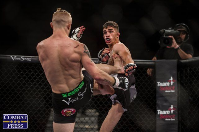 La escalofriante fractura que sufrió el peleador de MMA Jerome Rivera