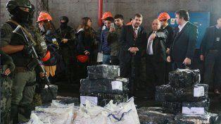 Se quemaron más de 2.600 kilos de droga secuestrados durante los últimos meses en Santa Fe