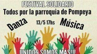 Festival solidario para reconstruir la parroquia de Nueva Pompeya