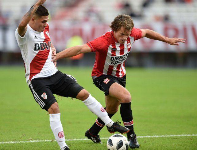 River le ganó a Estudiantes y se metió en zona de Copa Sudamericana