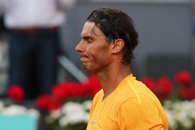 Nadal fue eliminado en Madrid y resignará el número uno del ranking