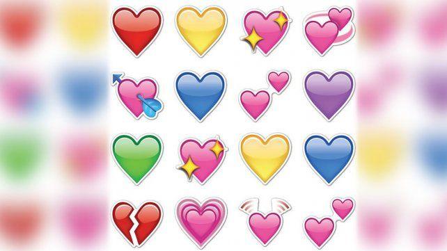 El color del emoji de corazón revela tu situación amorosa