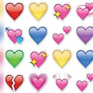 el color del emoji de corazon revela tu situacion amorosa