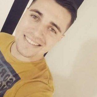 La víctima. El joven sufrió dos impactos de bala en una plaza de Pasaje Cullen y Quintana en la madrugada del 19 de enero.