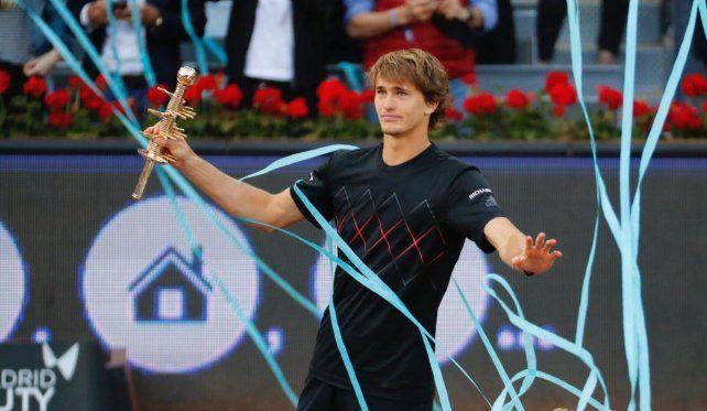 Alexander Zverev es el nuevo rey de Madrid