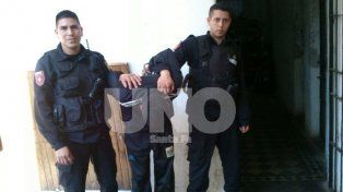 Golpeó a su mujer en plena avenida Aristóbulo del Valle y terminó preso