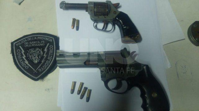Aprehendieron a dos tiratiros armados después de una balacera