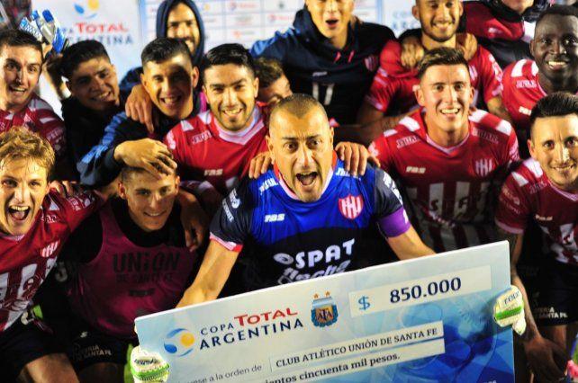El historial de Unión en la Copa Argentina