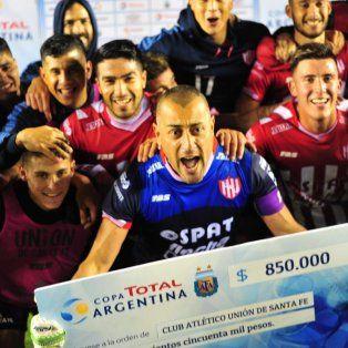 el historial de union en la copa argentina