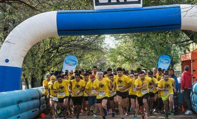 Marco multitudinario para otra edición del Maratón de la Familia Rubén Sabena