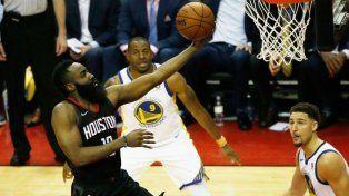 Houston empató la final del Oeste ante Golden State