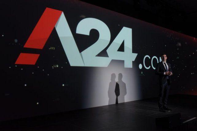 Grupo América presentó su innovador sitio de noticias: A24.com